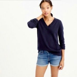 JCrew Collection 100% Cashmere Sweater Blue
